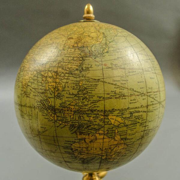 Juvet & Company 6-inch Terrestrial Globe, detail