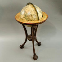 Franklin/ Merriam, Moore Six-Inch Terrestrial Table Globe