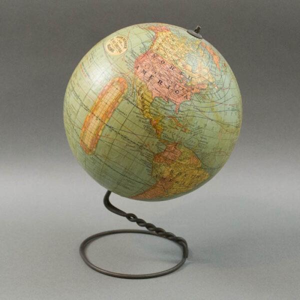 Rand, McNally & Co. 6-Inch Terrestrial Table Globe