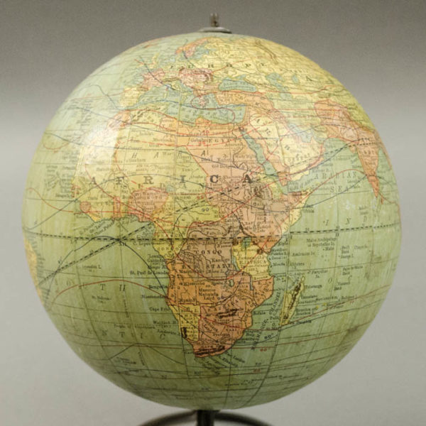 Rand, McNally & Co. 6-Inch Terrestrial Table Globe, detail
