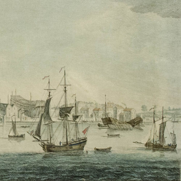 View of Harwich, detail