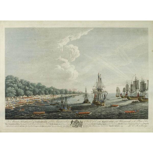 Siege of Havana: Perspective View of Landing on June 30th