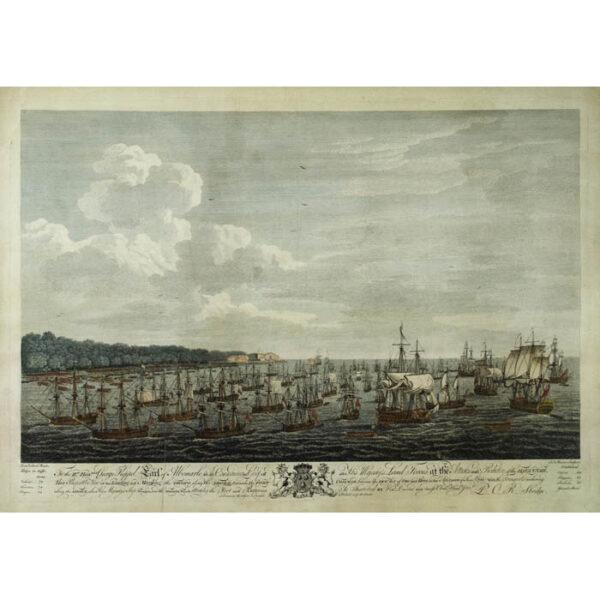 Siege of Havana: Perspective View of Landing on June 7th