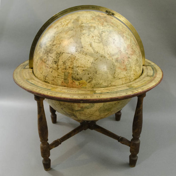 James Wilson 13-inch Celestial Table Globe