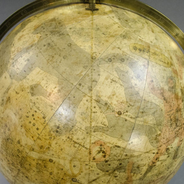 James Wilson 13-inch Celestial Table Globe, detail
