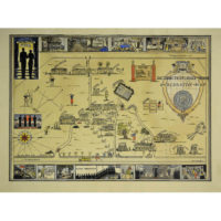 The Connecticut College for Women, A Decorative Map