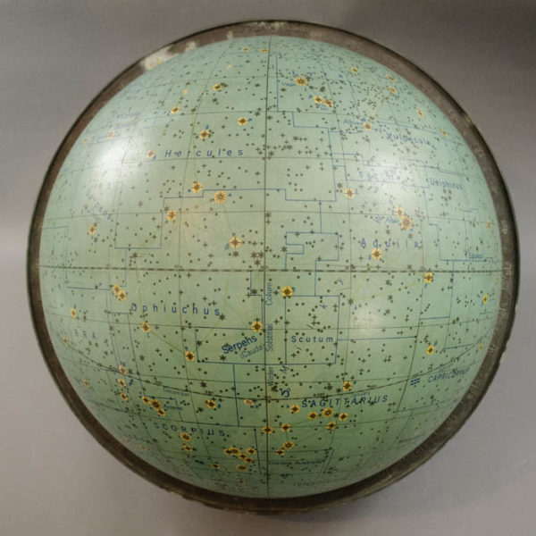Denoyer-Geppert Company 16-inch Celestial Table Globe, detail