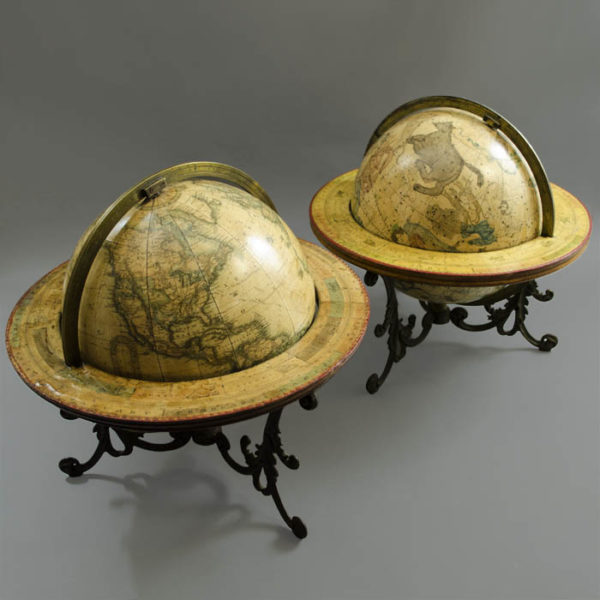 Franklin Globes 10-Inch Terrestrial and Celestial Globes