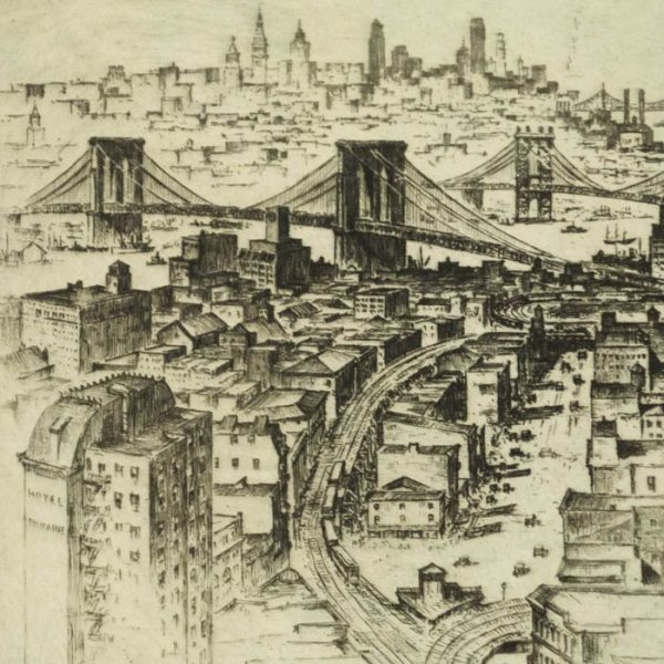 Anton Schutz, The Four Bridges, detail