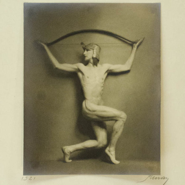 [Hubert Julian Stowitts] by Nickolas Murray, detail