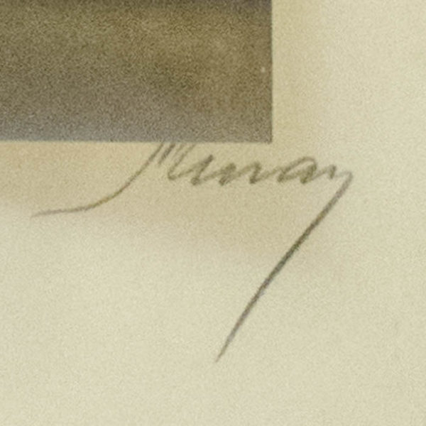 [Hubert Julian Stowitts] by Nickolas Murray, signature