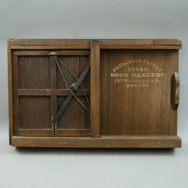 Prescott Patent Truss Door Model