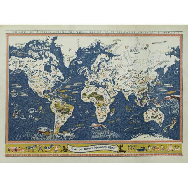 Edgar Miller, Hiker and Buzzer's Trip 'Round the World