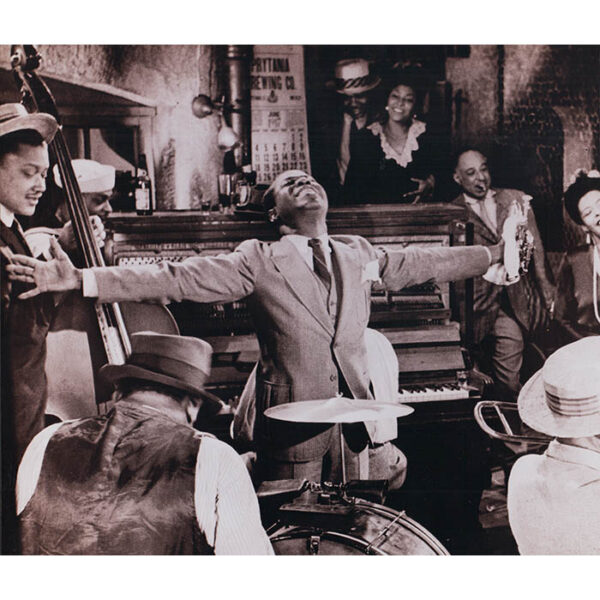 Louis Armstrong and Billie Holiday in Scene fromNew Orleans