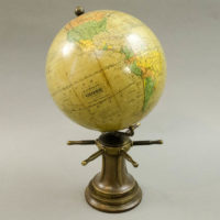 Herman Schedler/ Robert Gair 6-Inch Globe on Capstan Base