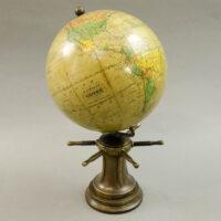 Herman Schedler/ Robert Gair 6-Inch Globe on Capstan Base