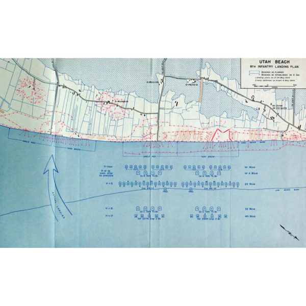 Utah Beach 8th Infantry Landing Plan