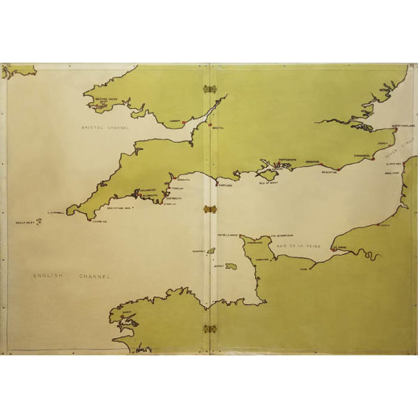 English Channel Map