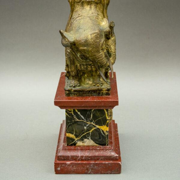 Elephant and Obelisk, detail