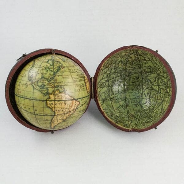 2.75-Inch Terrestrial Pocket Globe in Celestial Case