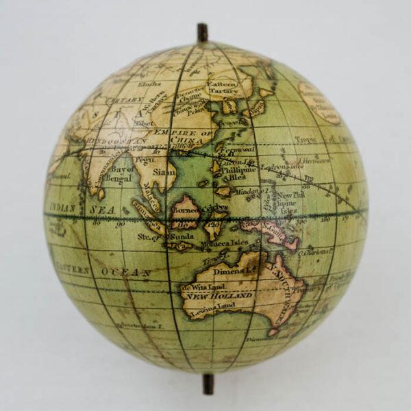 2.75-Inch Terrestrial Pocket Globe, detail