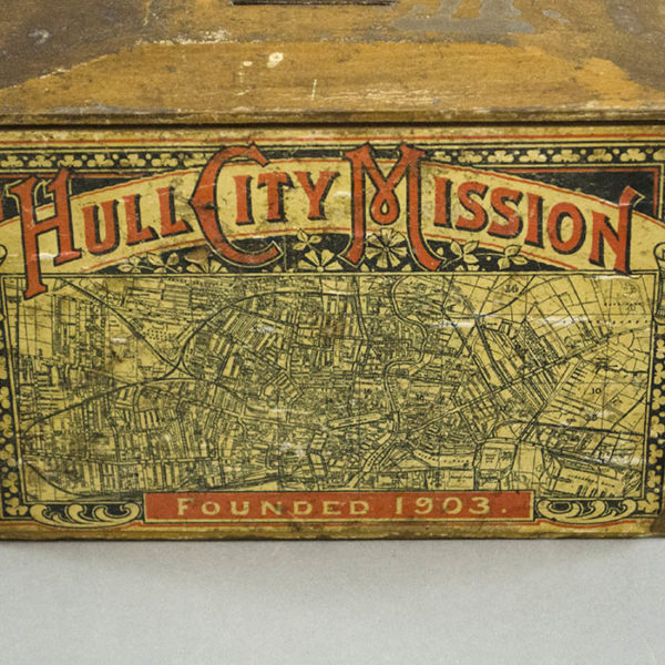 Hull City Mission Collection Box