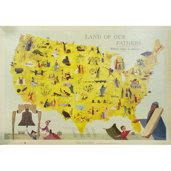 Land of Our Fathers: Biblical Names in America from the Old Testament