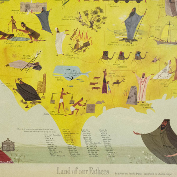 Land of Our Fathers: Biblical Names in America from the Old Testament, detail