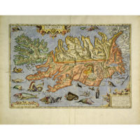 Ortelius Map of Islandia [Iceland]