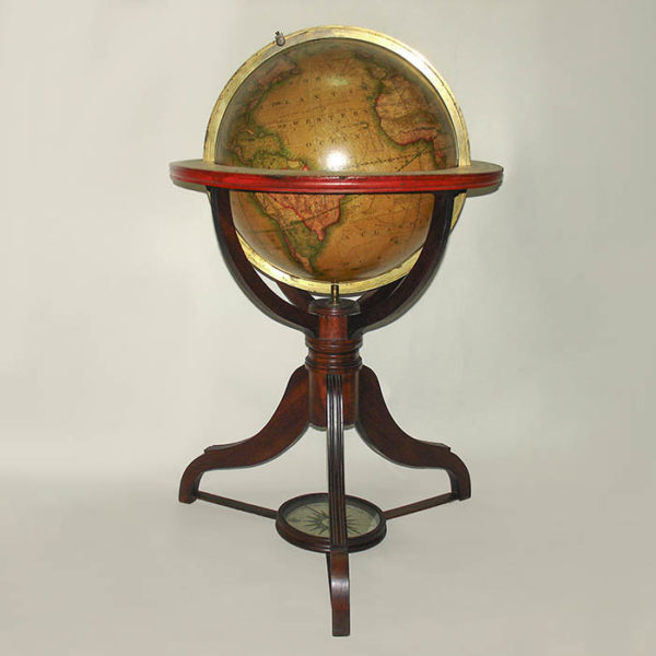 James Wilson 13-inch Terrestrial Table Globe