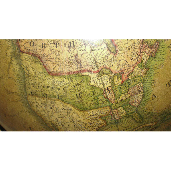 James Wilson 13-inch Terrestrial Table Globe, detail