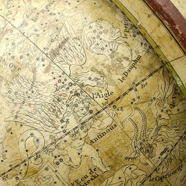 Robert de Vaugondy 10-Inch Celestial Table Globe, detail