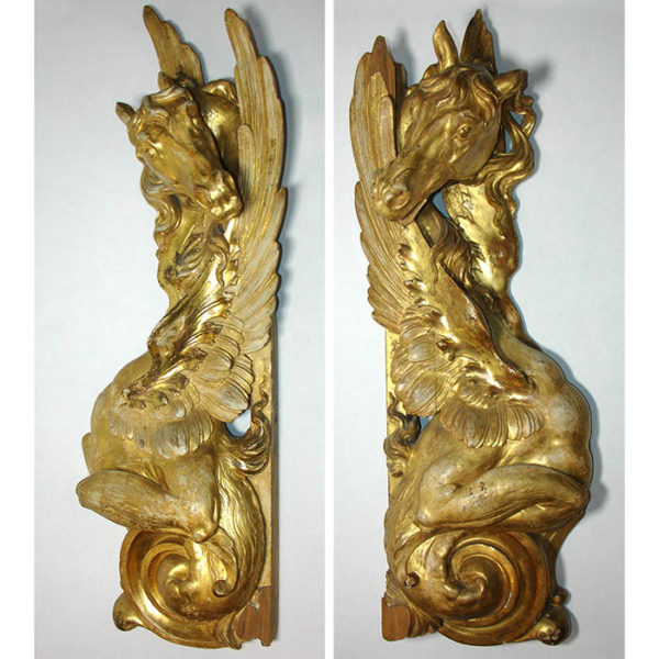 Pair of Pegasus Plaques