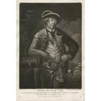 Israel Putnam, Esq'r., mezzotint portrait