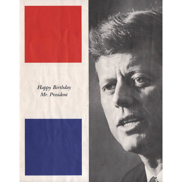 New York's Birthday Salute to President Kennedy, Program