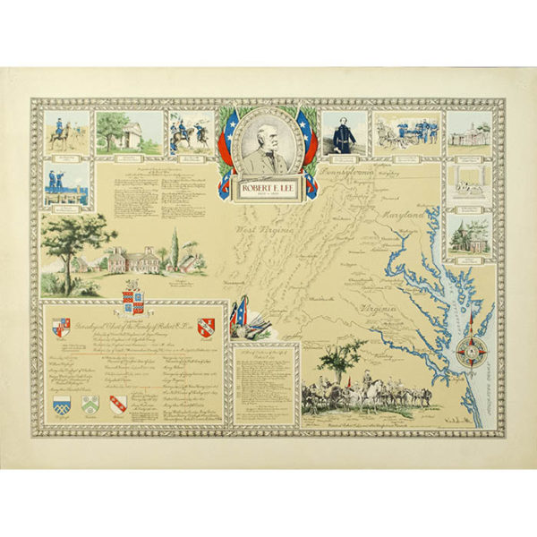 Karl Smith, Robert E. Lee pictorial map