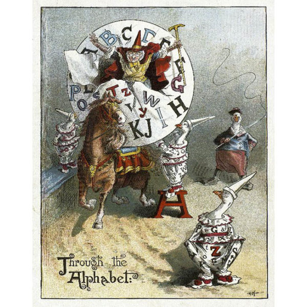 Richard André, Through the Alphabet, Illustration for Mother Goose ABC