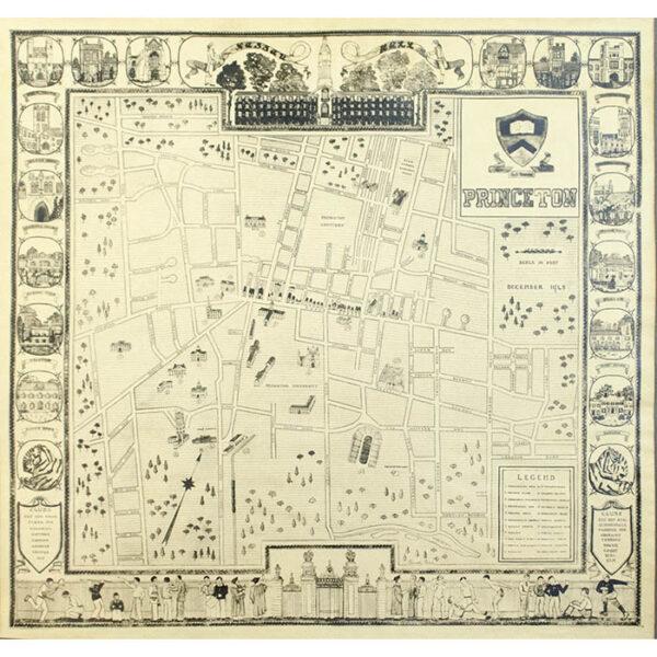 Princeton, pictorial map