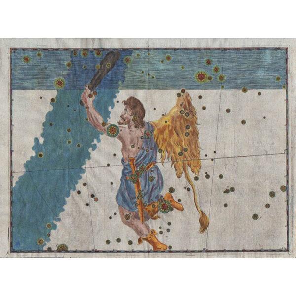 Johann Bayer, Orion Constellation from Uranometria