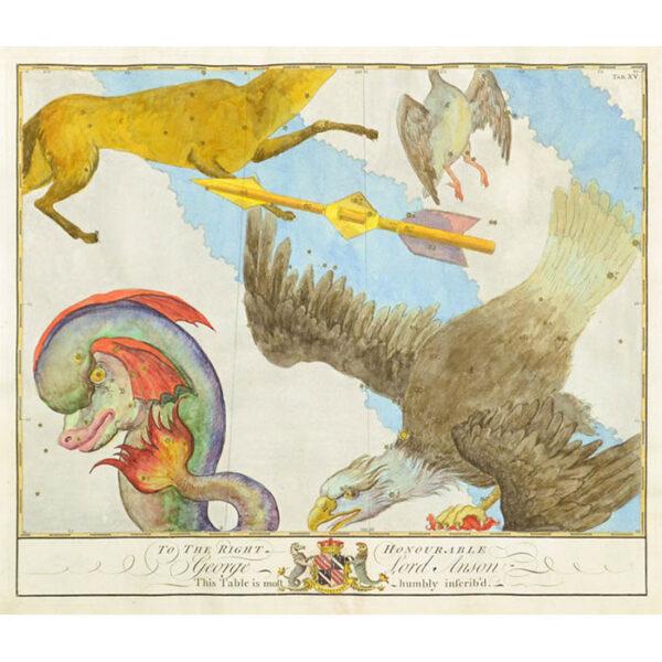 John Bevis, [Aquila, Delphinus, Sagitta, and Vulpecula]