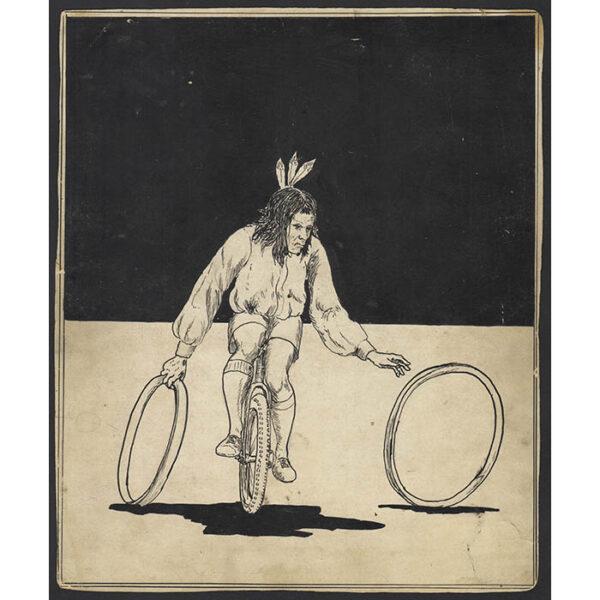 Chief Ironhand, drawing
