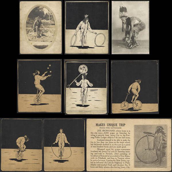 Collection of Joe Ironhand Memorabilia