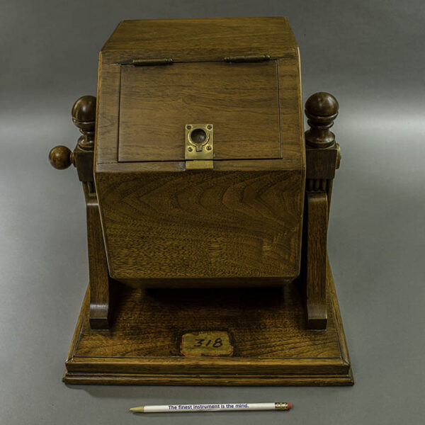 Jury Selection Ballot Box from Courtroom 318, Foley Square Courthouse, New York City
