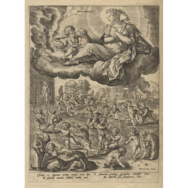 Allegories of the Seven Virtues, Plate 1