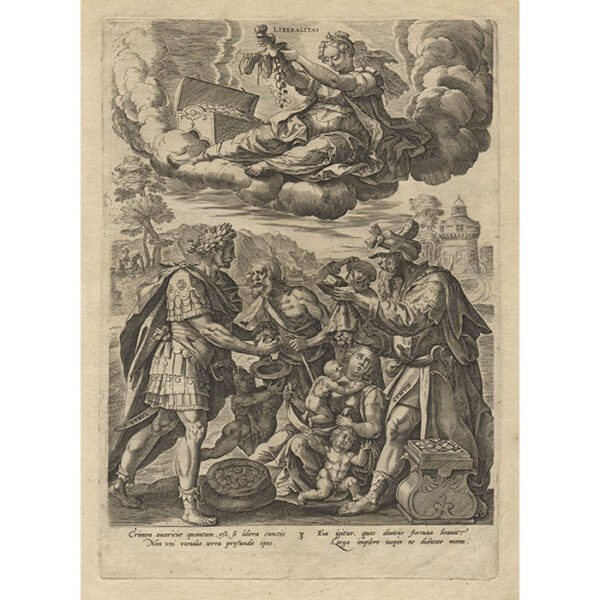 Allegories of the Seven Virtues, Plate 3