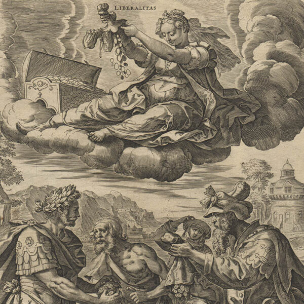 Allegories of the Seven Virtues, Plate 3 detail