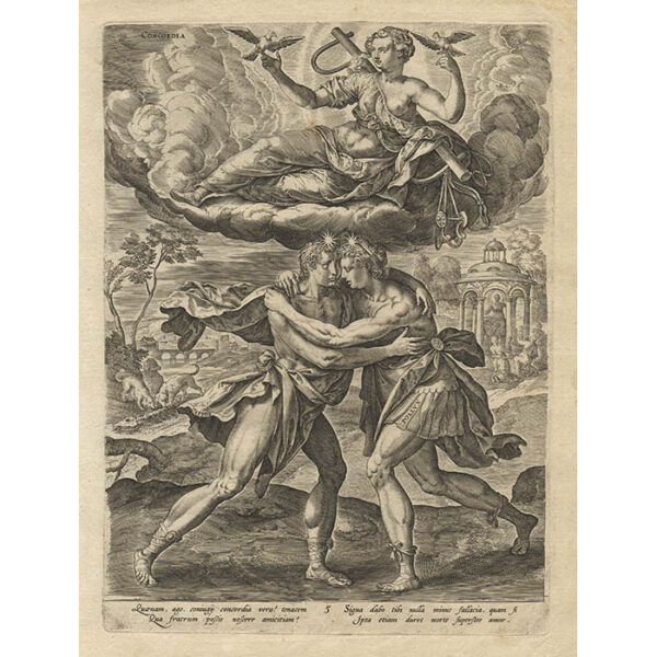 Allegories of the Seven Virtues, Plate 5