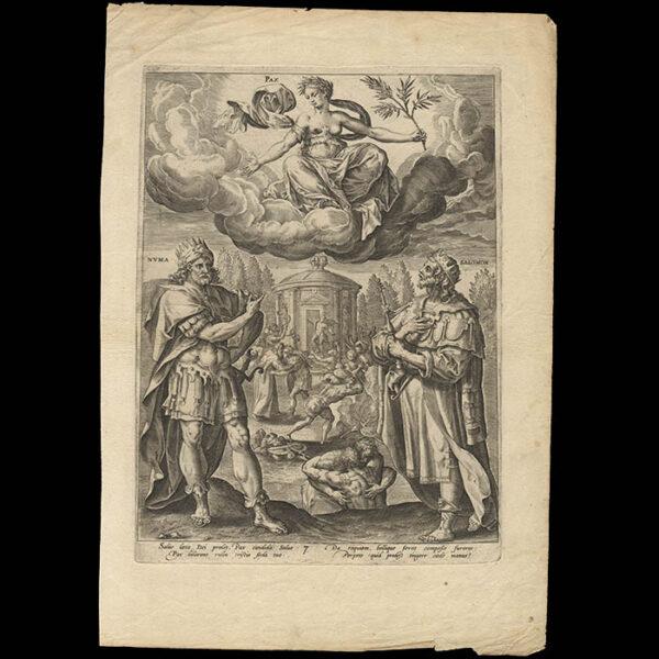Allegories of the Seven Virtues, Plate 7, full sheet