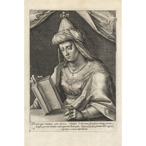 Plate 11 from Duodecim Sibyllarum