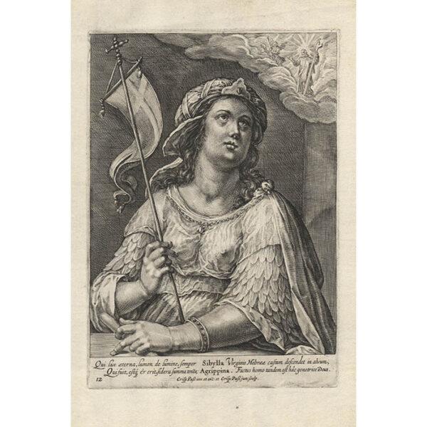 Plate 12 from Duodecim Sibyllarum